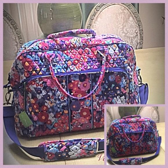 Vera Bradley Signature Cotton Duffle Bag fe1f2a923171e